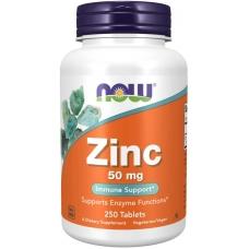 Now Zinc Gluconate 50 mg 250 таблеток (Цинк глюконат)