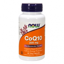 Now CoQ10 200mg 60 капсул