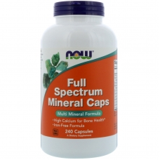 Now Full Spectrum Mineral Caps 240 капсул
