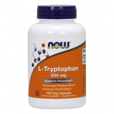 Now L-Tryptophan 500 mg 120 капсул