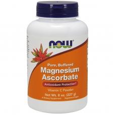 Магний аскорбат Now Magnesium Ascorbate 227 грамм