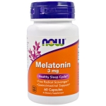 Мелатонин Now Melatonin 3 mg 60 капсул