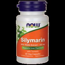 Now Silymarin 150 Mg 60 капсул - силимарин для очистки печени