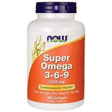 Now Super Omega 3-6-9 1200 mg 180 softgels