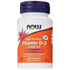 Now Vitamin D-3 2000 IU 240 капсул (Витамин Д)
