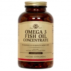 Solgar® Omega-3 Fish Oil Concentrate 240 капсул