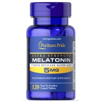 Puritans Pride Melatonin 5 mg 120 таблеток