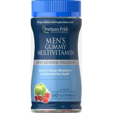 Puritans Pride Mens Gummy Multivitamin 60 Gummies