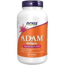 Витамины Now Adam™ 180 softgels