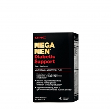 GNC Mega Men® Diabetic Support 90 таблеток