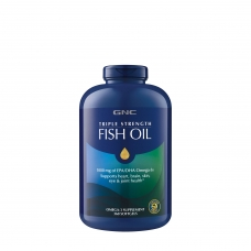 GNC Triple Strength Fish Oil 360 капсул