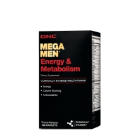 GNC Mega Men® Energy & Metabolism 180 таблеток
