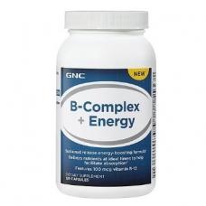 Витамины GNC B-Complex + Energy 120 капсул